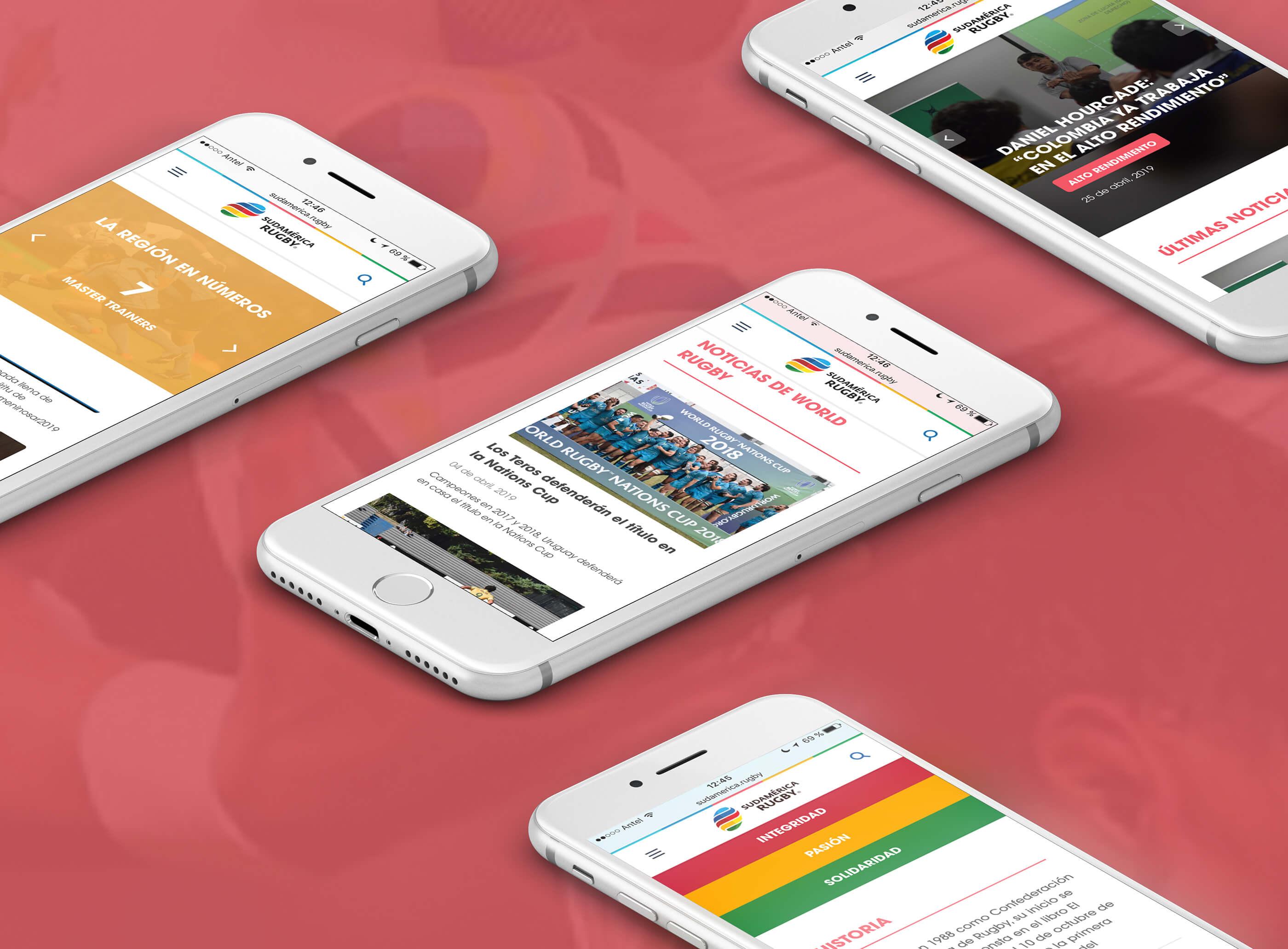 Sitio Web Sudamérica Rugby