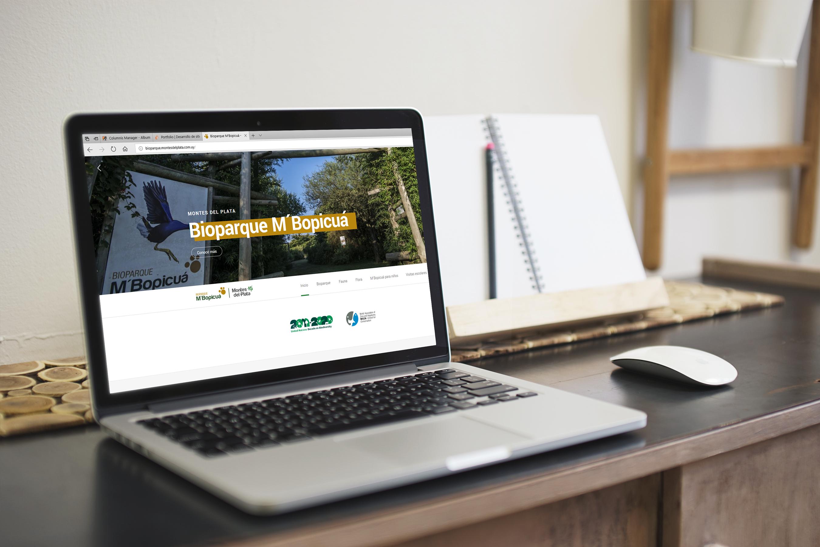 Bioparque Sitio Web