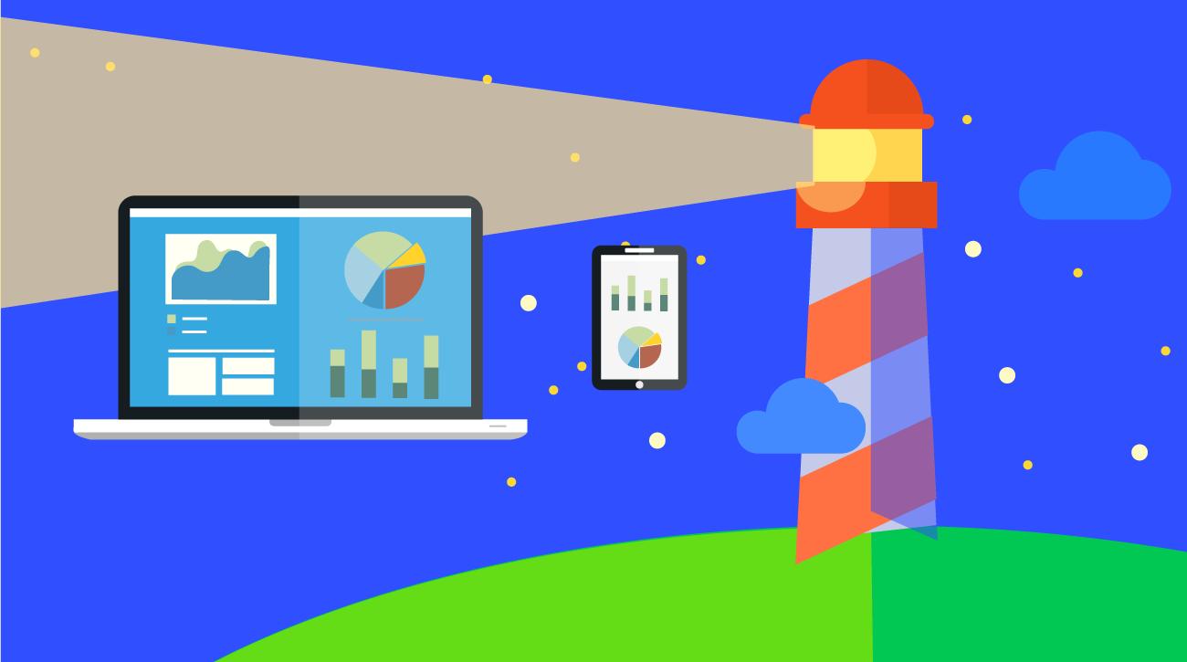 Lighthouse, una herramienta para auditar sitios y aplicaciones web.