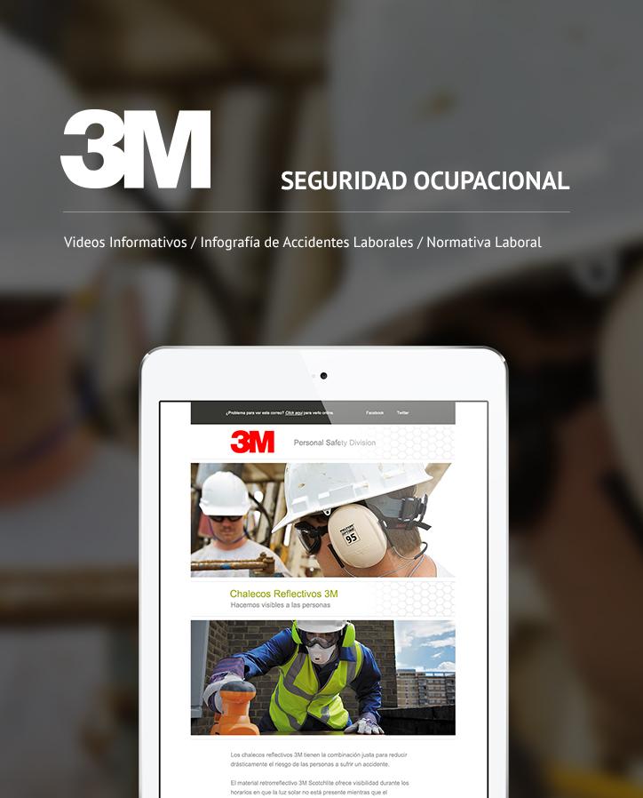 Mailing - 3M División Seguridad Ocupacional