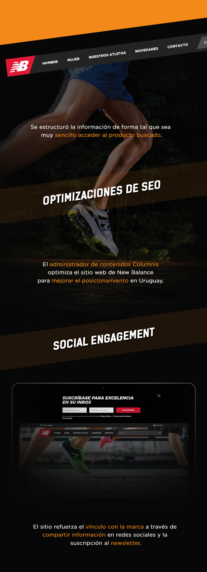 Optimizaciones de SEO, Social Engagement,